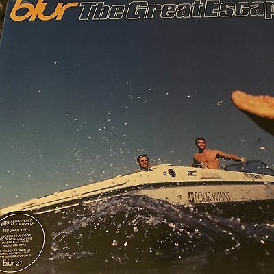 "Blur ""The Great Escape"" Special Edition 2 Vinyl LP Mp3 codes -Brand New & Sealed"
