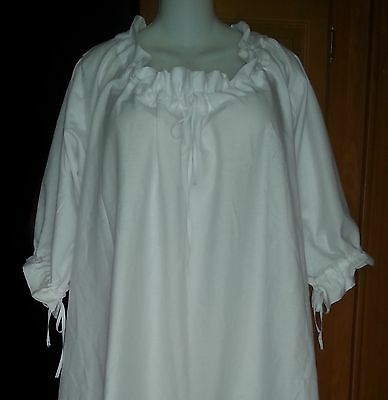 18th Century Historical Reproduction Chamise Fits 32 to 54 Bust size