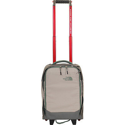 The North Face Overhead Cabin Small Black Wheeled Bag Duck Grey New Fall 2016