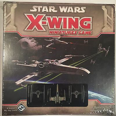 Star Wars X-Wing Miniatures Game Core Set by Fantasy Flight Games (SWX01) NEW