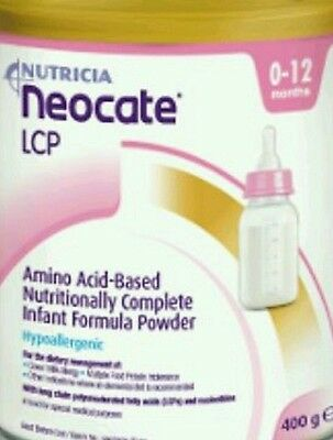 nutricia neocate lcp milk 400g tin