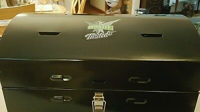 Brand New Rare Promotional Smirnoff Twisted Mini Double Barrel Charcoal Grill