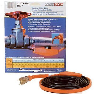 Easy Heat AHB-130 Cold Weather Valve and Pipe Heating Cable, 30-Feet