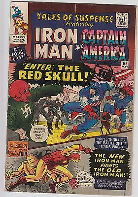 Tales Of Suspense #65, Cents Issue, Captain America & Iron Man, 1st SA Red Skull