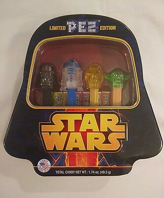 pez limited edition star wars