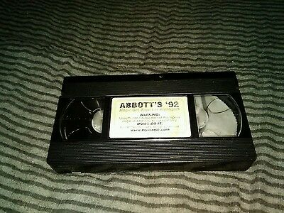 Abbotts get together convention 1992 vhs magic tricks magician