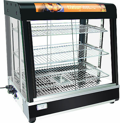 Luxury Commercial Hot Food Warmer Display Cabinet