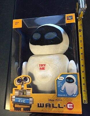 Disney Pixar Wall E Cuddle And Glow Eve