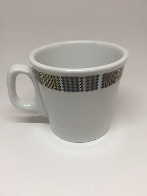 Ridgway Steelite Hotel Ware England Tea Cup Coffee Mug Tweed Vitreous China