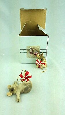 Charming Tails BY Dean Griff Silvestri  peppermint party ornament 87/314