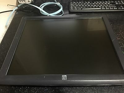 """Elo Touchsystems Et1928L 19"""" Touch Screen With Power Cord Pos Screen"""