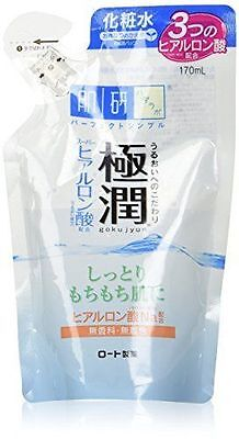 New Rohto Hada Labo Gokujyun Hyaluronic Acid Lotion (Refill) 170ml Moist Type Ge