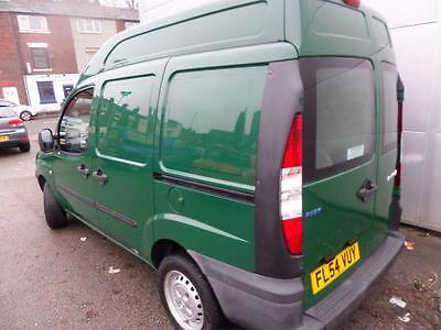 2004 54 Fiat Doblo 1.9 Jtd Sx Van Low Mileage High Roof Diesel