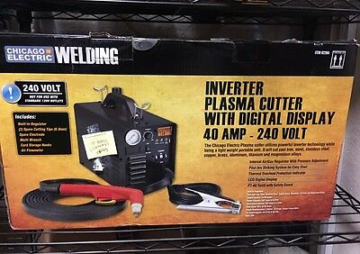 NEW Chicago Electric Plasma Cutter 62204 GREAT$$$$$