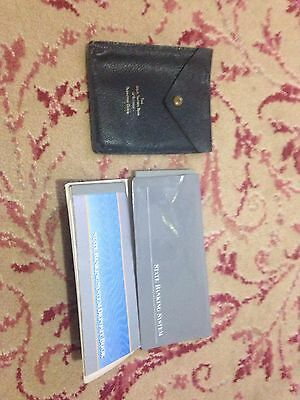 State Savings Bank Of Victoria Leather ? Passbook Cover & 3 Books