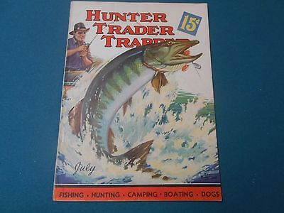 Hunter Trader Trapper Magazine, July 1937, Traps, Trapping, Hunting.