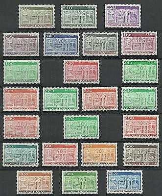 Andorra 1983-96 First Arms Of Valleys Of Andorra. 2 Complete Sets. Cv: £56