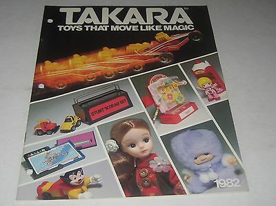 Takara 1982  Toy Fair Toy Catalog Mighty Mouse Penny Racers Pretty Lisa