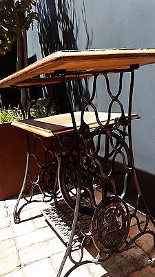 vintage singer treadle sewing machine stand