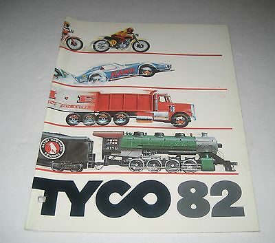 Tyco 1982  Toy Fair Toy Catalog Trains Slot Cars