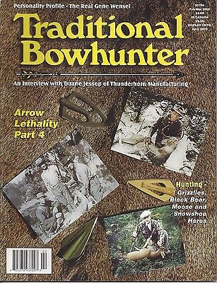Traditional Bowhunter Magazine 2000 all  6 back issues