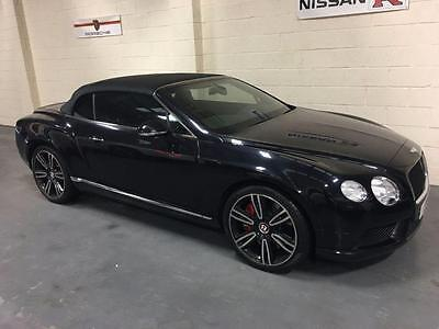 2013 03 Bentley Continental 4.0 Gtc V8 2D Auto 500 Bhp,fbsh,stunning Throughout.