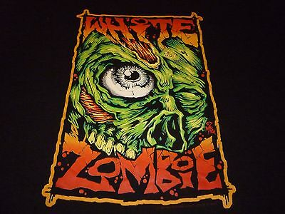 White Zombie Rare Vintage Shirt ( Size L ) NEW DEADSTOCK!!!