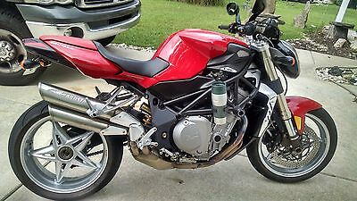 2008 MV Agusta Brutale 910  08 BRUTALE 910cc. Purchased New in 2014. Warranty ended in March. 5400miles.