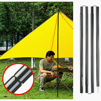 2x2m Canopy Upright Pole Porch Tent Tarp Tent Cover Awning Pole Camping Beach