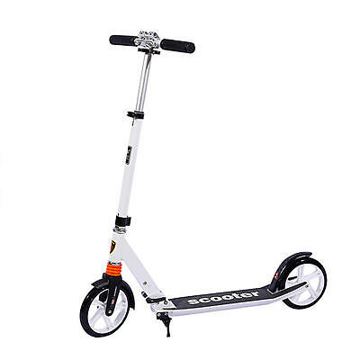 Aluminum Alloy Big Wheel Foldable Height Adjustable Kick Scooter