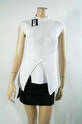 NWT AUTH Alexander Wang White Knit Vest $485