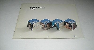 Vogue Dolls 1980 Toy Fair Toy Catalog Ginny Dolls