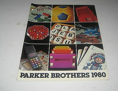 Parker Bros.1980 Toy Fair Toy Catalog Nerf Merlin Ouija Mad Mork & Mindy Games