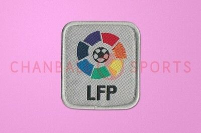Spain Real Madrid 1999-2004 LFP Embroider Sleeve Soccer Patch / Badge