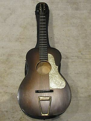 Kay Stella Regal? First National Institute Allied Arts Parlor Slide Guitar Geib