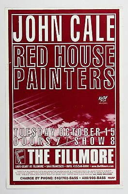 John Cale Poster 1996 Oct 15 The Fillmore San Francisco
