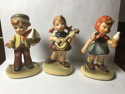 Lot Of 3 Vintage Napcoware C7199 Figurine from Japan