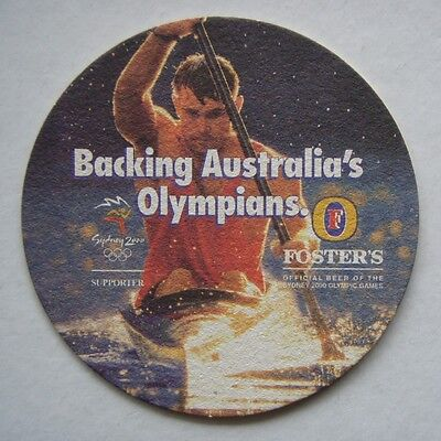Foster's Backing Australia's Olympians Sydney 2000 Olympic Games Coaster
