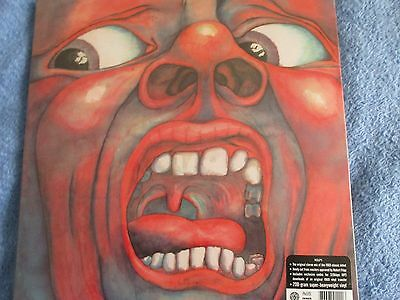 King Crimson   In The Court Of The Crimson King  (Sealed) Lp
