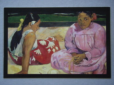 Avant Card #14006 2009 Masterpieces From Paris VanGogh Gauguin Postcard