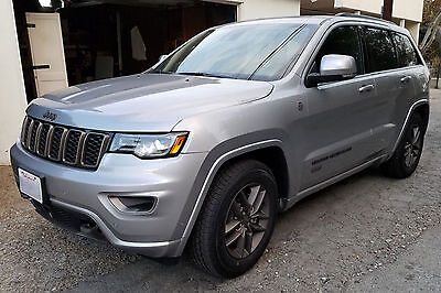 2017 Jeep Grand Cherokee Limited 75th anniversary 2017 Jeep Grand Cherokee Limited 75th 4x4!