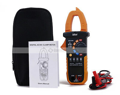 MS2108A Digital Clamp Meter Multimeter AC/DC Tester Compare Mastech NCV