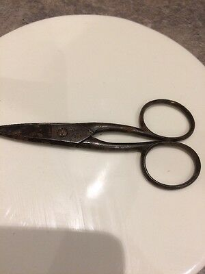 Rare Dickens & Jones Vintage Scissors Sheffield Sewing Clothing