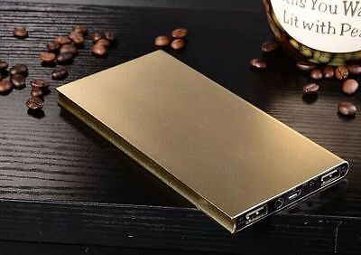 50000mAh Gold Power Bank Pack Portable USB Battery Charger Iphone Samsung UK