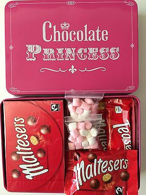 Maltesers Chocolate Sweets Hamper Mother's Day Keepsake Tin Box Gift Present