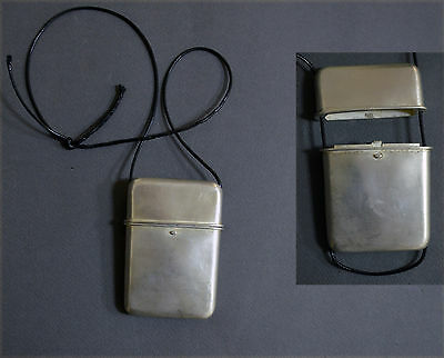 Highly Collectable Antique Japanese Sterling Silver Inro