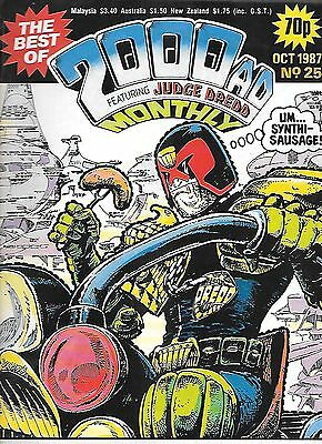 "Best of 2000 AD Monthly #25 (1987)Rogue Trooper ""From Hell""/ Dredd ""Heavyweight"""
