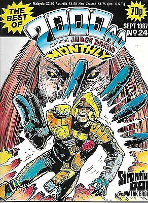 "Best of 2000 AD Monthly #24 (1987) Strontium Dog ""Moses Incident""/Dredd ""Jimps"""