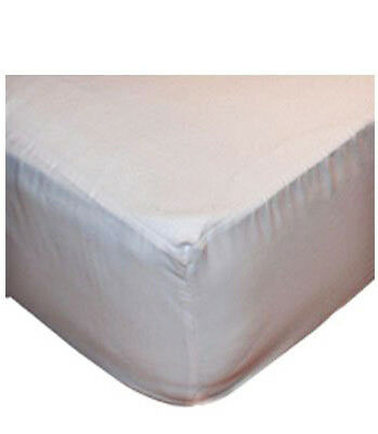 Bibs & Stuff Fitted Mattress Protector White With Anti Allergy Barrier 60x120cm