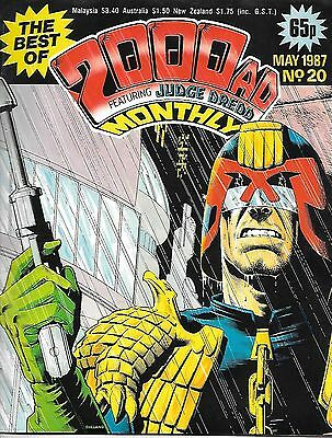 "Best of 2000 AD Monthly #20 (1987) Slaine x 3 complete + Dredd ""The Stupid Gun"""""